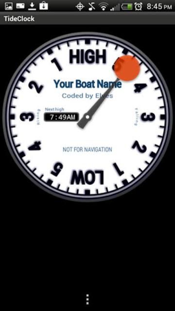 Tide Clock screenshot 3