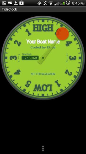 Tide Clock screenshot 6
