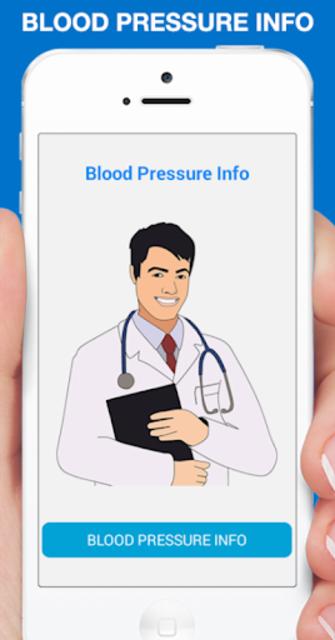 Blood Pressure Info screenshot 1