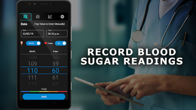 Blood Sugar Diary screenshot 1