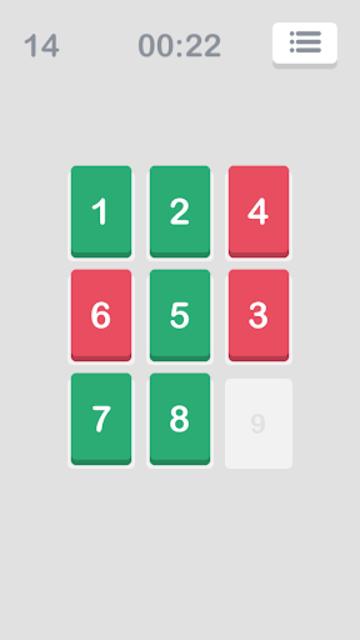 Number Puzzle: Slide to Sort screenshot 1