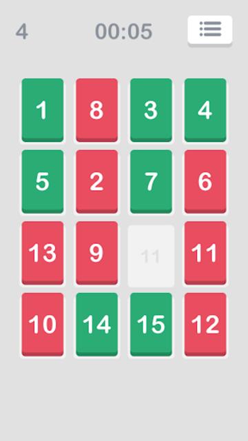 Number Puzzle: Slide to Sort screenshot 2