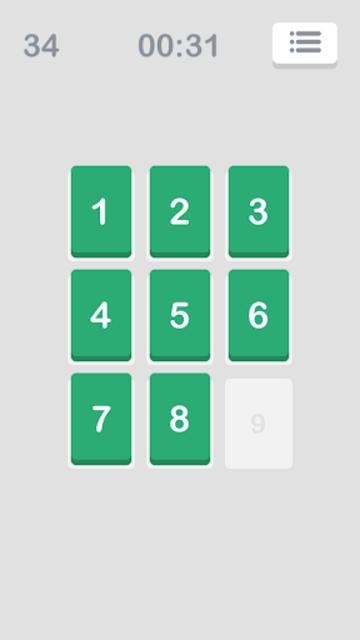 Number Puzzle: Slide to Sort screenshot 4