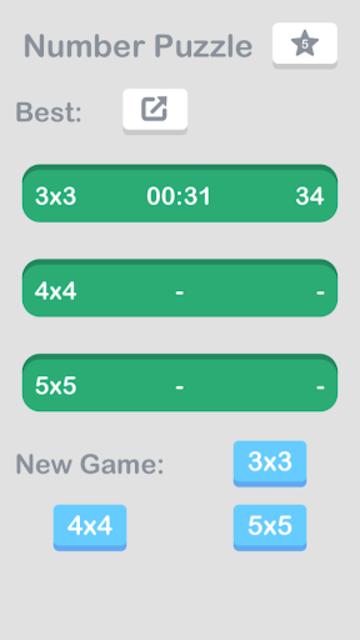 Number Puzzle: Slide to Sort screenshot 5
