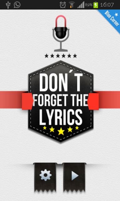 Don't Forget the Lyrics 2014 screenshot 1