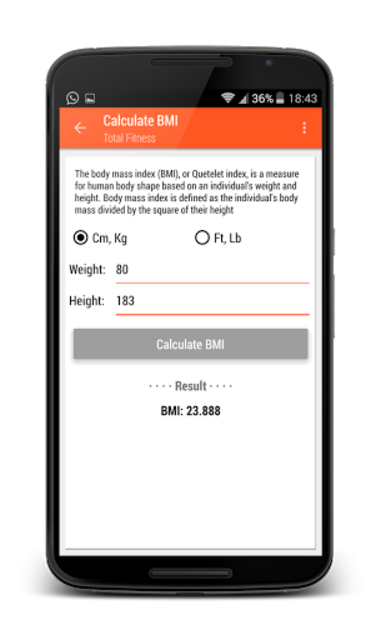 Total Fitness PRO - Gym & Workouts screenshot 16