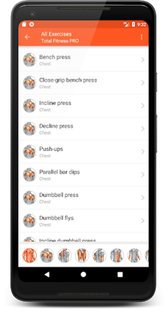 Total Fitness PRO - Gym & Workouts screenshot 3