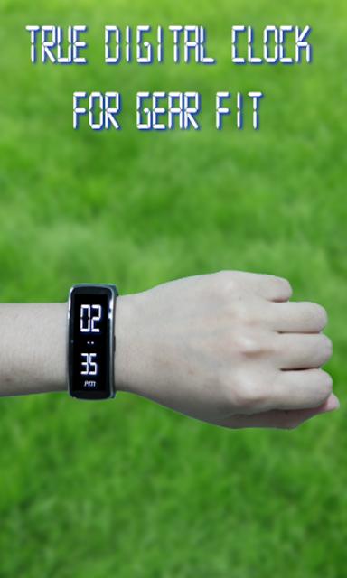 Gear Fit Digital Clock screenshot 5
