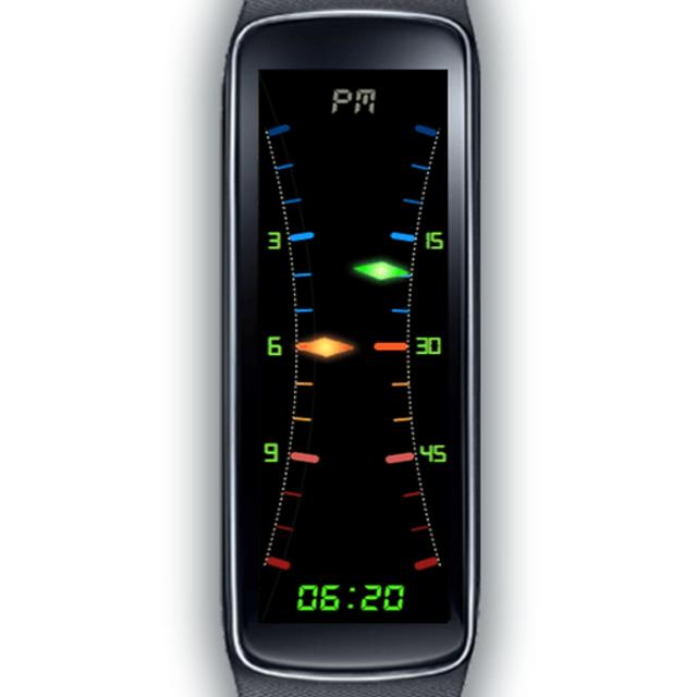 Gear Fit Dual Hybrid Clock screenshot 1