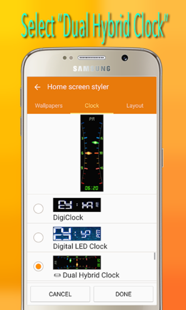 Gear Fit Dual Hybrid Clock screenshot 9