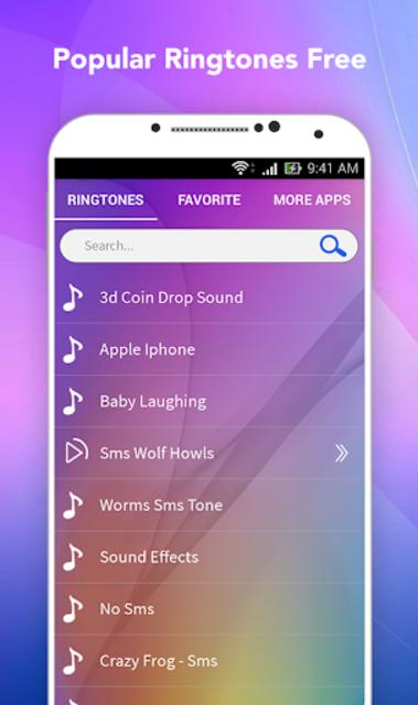 Popular Ringtones Free screenshot 1