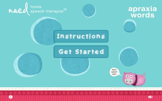Speech Therapy 4 Apraxia - Words screenshot 1