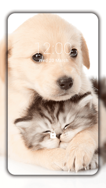 Cats and Dogs Live Wallpaper (Backgrounds) screenshot 1