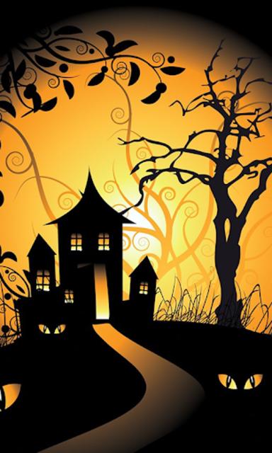 Halloween Live Wallpaper (Backgrounds HD) screenshot 2