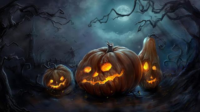 Halloween Live Wallpaper (Backgrounds HD) screenshot 5