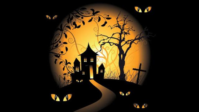 Halloween Live Wallpaper (Backgrounds HD) screenshot 6