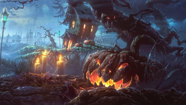 Halloween Live Wallpaper (Backgrounds HD) screenshot 8