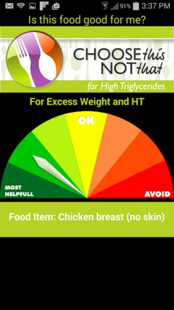 High Triglycerides screenshot 1