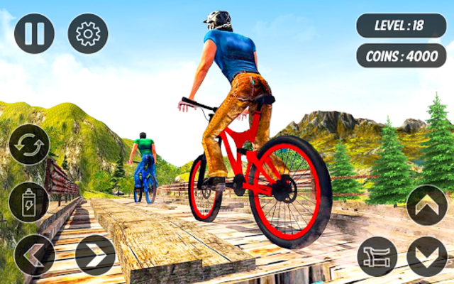 BMX Mountain Climb – MTB Hill & Bicycle Racing screenshot 14