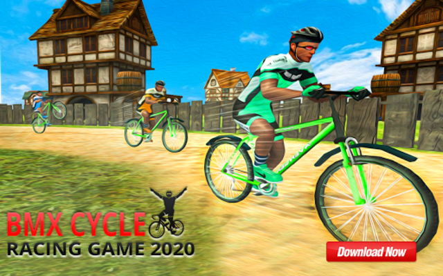 BMX Mountain Climb – MTB Hill & Bicycle Racing screenshot 3
