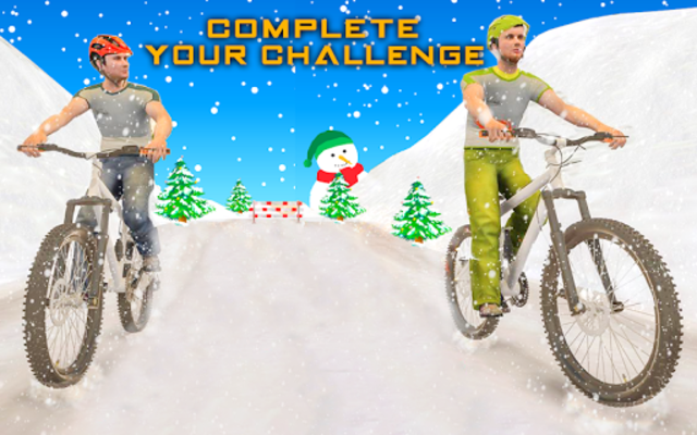 BMX Mountain Climb – MTB Hill & Bicycle Racing screenshot 16