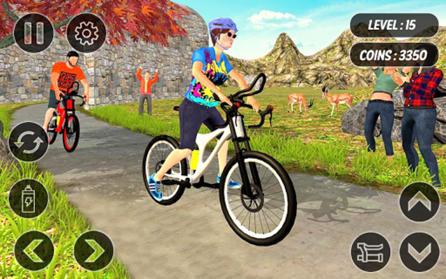 BMX Mountain Climb – MTB Hill & Bicycle Racing screenshot 21