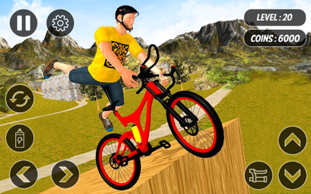 BMX Mountain Climb – MTB Hill & Bicycle Racing screenshot 8