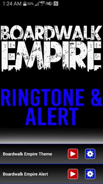 Boardwalk Empire Ringtone screenshot 1