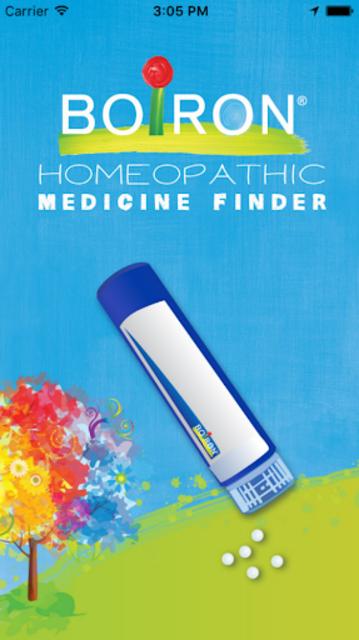 Boiron Medicine Finder screenshot 1