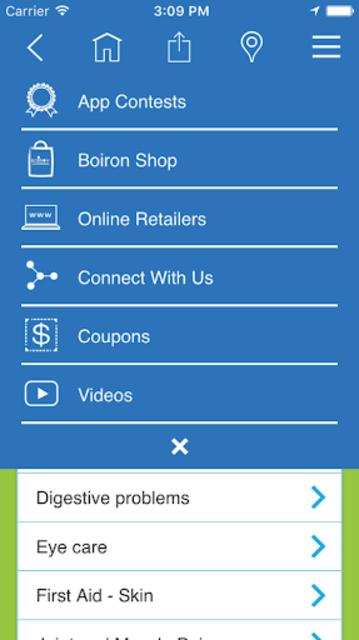 Boiron Medicine Finder screenshot 6