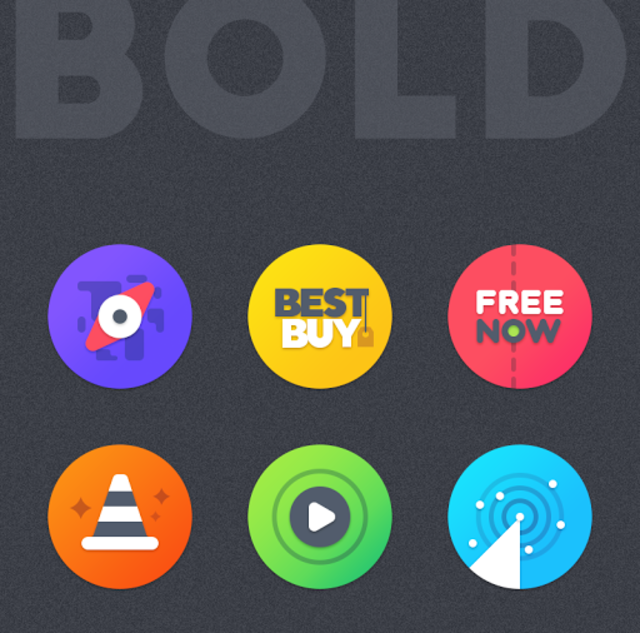 BOLD - ICON PACK screenshot 1