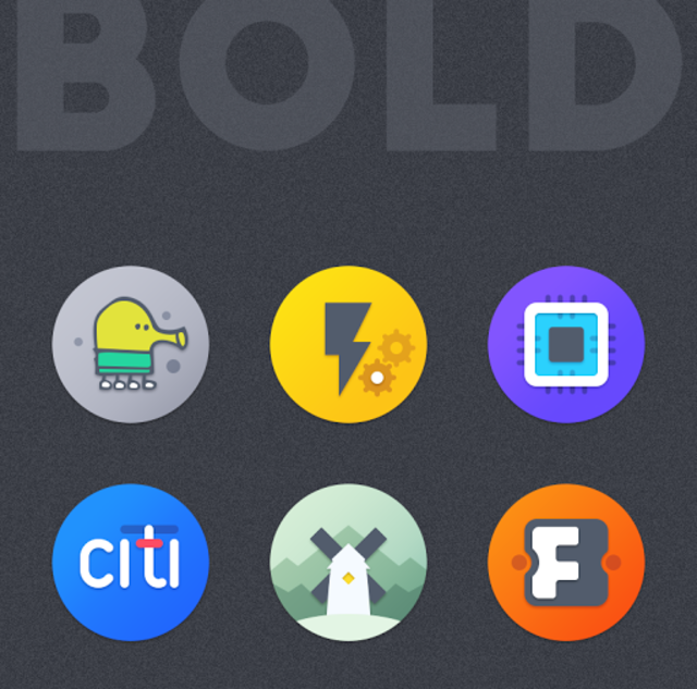 BOLD - ICON PACK screenshot 2