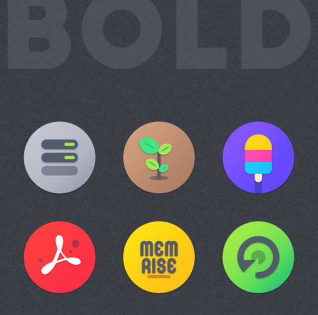 BOLD - ICON PACK screenshot 3