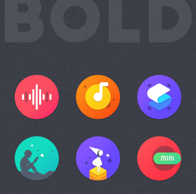 BOLD - ICON PACK screenshot 4