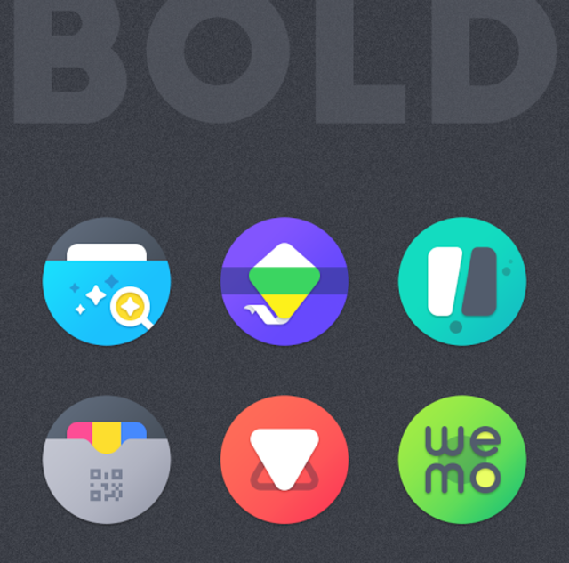 BOLD - ICON PACK screenshot 5