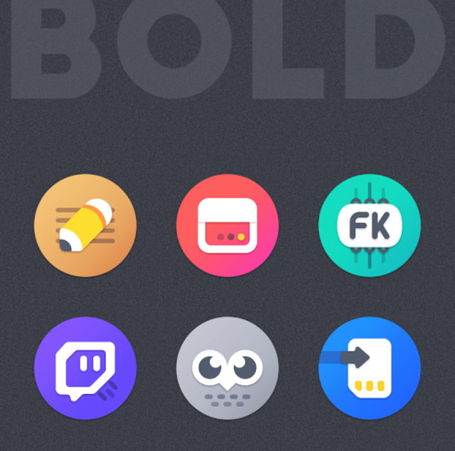 BOLD - ICON PACK screenshot 7