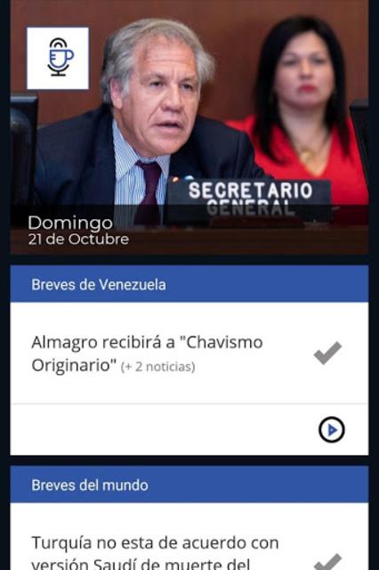 Al día con César Miguel Rondón screenshot 1
