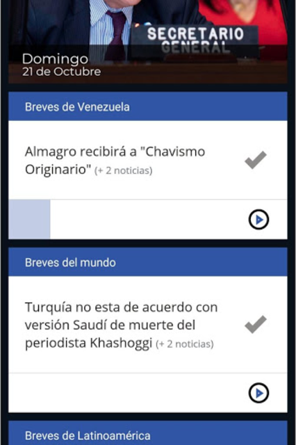 Al día con César Miguel Rondón screenshot 2