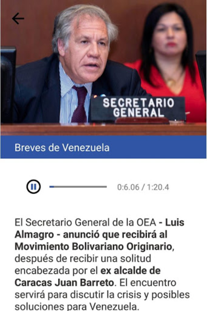 Al día con César Miguel Rondón screenshot 3