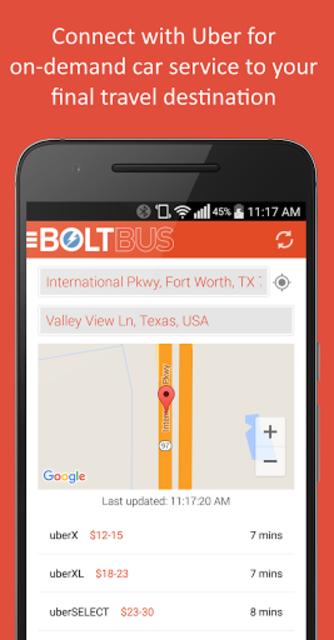 BoltBus screenshot 4