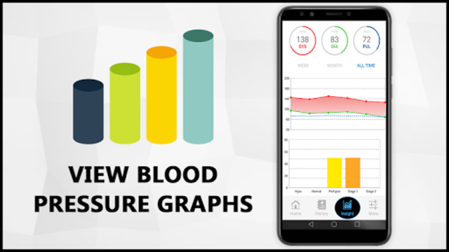 Blood Pressure Check Diary : History Log : BP Info screenshot 3