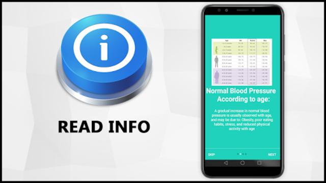 Blood Pressure Check Diary : History Log : BP Info screenshot 6