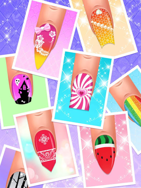 Nail Salon : Nail Designs Nail Spa Games for Girls screenshot 11