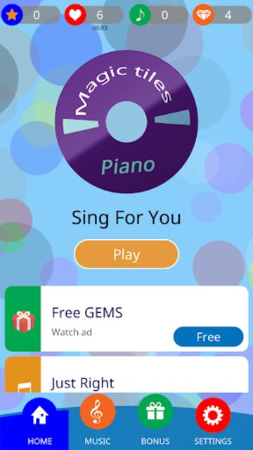 KPOP Piano Magic Tiles screenshot 2