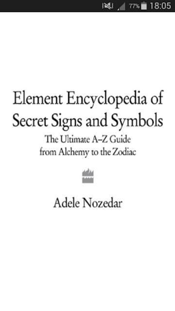Secret Sigils Encyclopedia screenshot 1