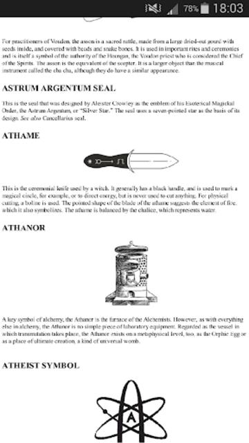 Secret Sigils Encyclopedia screenshot 5