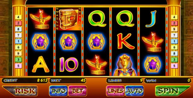 Book of Ramses Slot screenshot 1