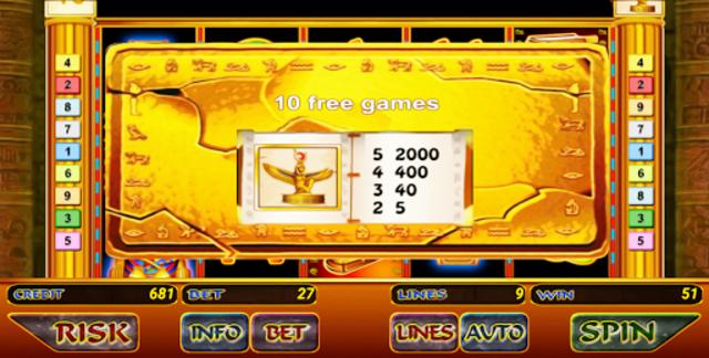 Book of Ramses Slot screenshot 4
