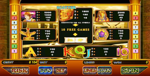 Book of Ramses Slot screenshot 6