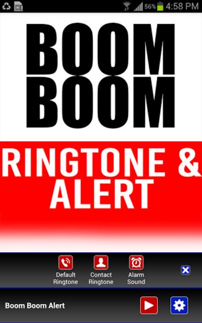 Boom Boom INTRO Ringtone screenshot 2